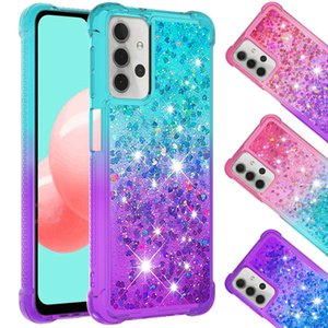 Phone Cases For samsung Galaxy A12 A22 A32 A72 A52 A51 A71 A82 A42 5G A10s A11-M11 4G Anti-dirty TPU Protective Shockproof Mobile Case Liquid Quicksand Cover