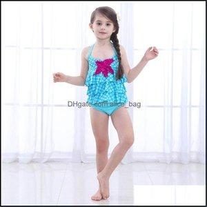 Childrens Swimming Equipment Sports & Outdoorschildrens Swimwear Fashion Lovely Baby Infant Girl Kids Bikini Swimsuit Beachwear Clothes Set