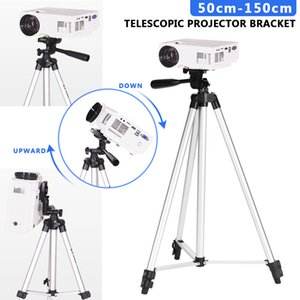 50cm-150cm Réglable 360 Trother Projecteur Trépied Support Support DVD Porte-sol Porte-sol Stand Stand Stand de haut-parleur pour CP600 210317