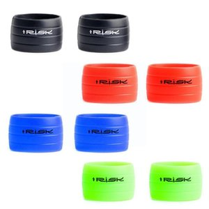 Bike Handlebars &Components 1Pair Outdoor Cycling Handlebar Tape Fixing Sleeve Plugs Ring Road Waterproof Fitting Anti-Skip Protective Rubbe