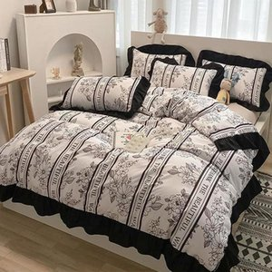 Bedding Sets Fashion Full Queen King Country Style 3 4Pc Set Duvet Cover Pillowcase Flat Bed Sheet Bedroom Bedspreads Home Bedclothes
