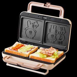 JOYOUNG 900W Maison de gaufre de gaufres à la maison Sandwich Petit déjeuner multifonctionnel Machine à pain Machine à pain