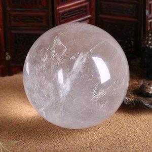 100% Natürliche Kristall Ball Magie Mineralkugel für Edelsteine Sammlung Home Office Dekoration 3 bis 20 cm Klar Polnische Handwerk Dekorative Objekte