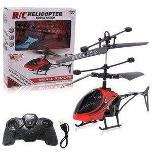 Умный домашний контроль 2021 Мини RC Инфракрасная индукция Удаленная игрушка 2CH Gyro Helicopter Drone Electric Toys для детей подарки