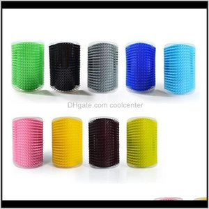 Grooming Home & Garden Drop Delivery 2021 Hairdresser Corner Scratching Hair Brush Cat Licking Itching Artifact Pet Supplies Toy Mas Comb Mix
