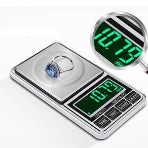Digital Scales Green backling 0.01g mini pocket For Tobacco Kitchen Food Jewelry Weight Healthy Gram Balance Scale With batteries