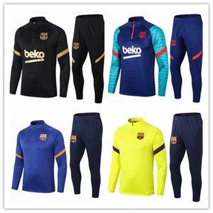 FC Barcelona Messi F.De Jong Soccer Jerseys Fans Tops Tees Griezmann O.Dembele Men Kit Jersey Traje de entrenamiento