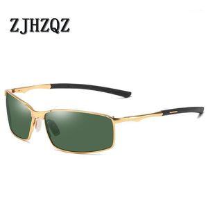 Mens Photochromic Polarized Sunglasses for Sports Outdoor Driving Fishing Golf Eyeglasses Women Metal Frame Drivier Sun Glasses1