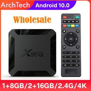 TV Box Android 10 X96Q 2.4G Wifi Allwinner H313 Quad Core 1G 8G 2GB 16GB 1080P Media Player X96 Q 4K Smart Set Top Wholesale X96QAndroid TVBox X 96Q