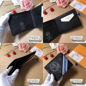 Designer M60895 Multiple Wallet Canvas Leather Card Bag Wallets Purse Mini Clutches Exotics Evening Chain Belt Bags