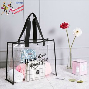Transparent Beach Bag Wet and Dry Separation Men Women Waterproof Portable Bags for Swimsuit Swimming Equipment Storage