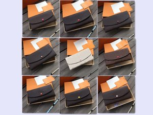2021 Luxurys Designers Wallet Fashion Bags Card Holder Carry Around Women Money Cards Coins Bag Men Leather Purse Long Business Wallets #19