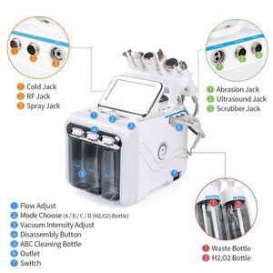 ABD Stok 6 1 hidrafacial rejuvenaiton makinesi oksijen jet peel hydra cilt yıkayıcı yüz güzellik derin temizlik RF yüz kaldırma soğuk çekiç