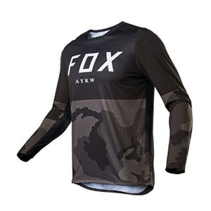 2021 New Bike Shirt MTB Radfahren Jersey Männer Camisa Ciclismo Motocross Camiseta Enduro Motomaillots de Deportine Downhill X0503