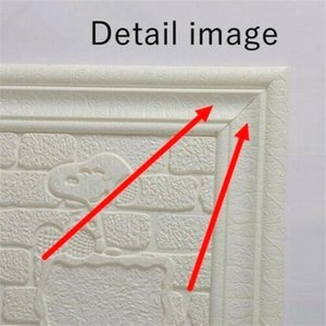 Wall Trim Line Skirting Border 3D Pattern Sticker Decoration Self Adhesive Durable Waterproof Strip MJJ88 Wallpapers