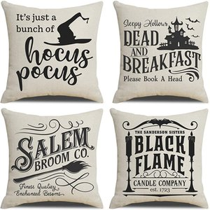 Halloween Decor Pillow Case Decorations Outdoor Fall Pillows Decorative Throw Cushion Covers For Home Sofa DD495