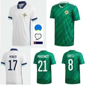 20 21 Северная Ирландия Футбол Футбол Эванс Льюис Савиль Дэвис Байттей Лэфферти Макнаин Дом 2021 Мужчины Футбольные рубашки.
