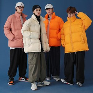 Thicken Coats Men Women Winter Parkas Male Female Unisex Jacket Coat Lady Students Outwear Couples Windbreaker Children Boy Girl