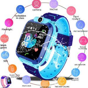 Smart Watch LBS Kid es Baby Waterproof For Children SOS Location Finder Locator Tracker Antil-lost Monitor #BL1