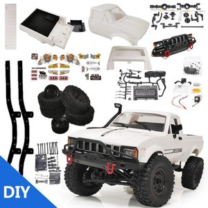 WPL C24-1 4WD 1 16 Kit 2.4G Crawler Off Road RC Car 2CH Vehicle Models With Motor Servo and Head Light 210322