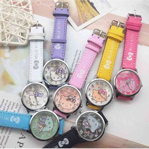 New products children girl cartoon girl students electronic watch grabbing machine gift