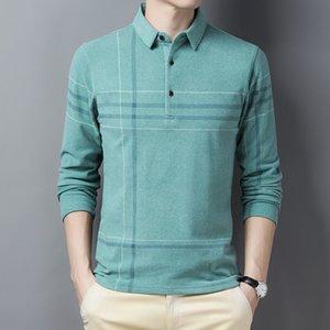 Ymwmhu Nuovo arrivo per uomo manica lunga inverno streetwear Streetwear casual polo maschile Top coreani