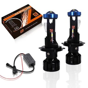 Canbus 80W Lamp H7 LED Mini Projector Lens Automobles Bulb 18000LM Conversion Kit Hi Lo Beam Headlight 12V24V RHD LHD Other Lighting System