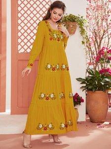 Ethnic Clothing De Moda Vestidos Largos Kaftan Dubai Abaya Muslim Hijab Dress Robe Musulman Turkey Maxi Dresses Abayas For Women Islam
