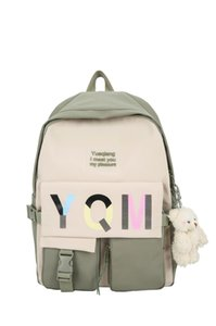girls School Travel back bag Simple backpack In April 2021, warm colors are stylish and comfortable