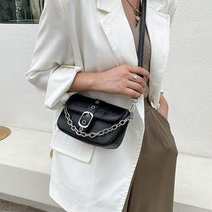 Bags Woman's 2021 Keychain Luxury Brand Designer Trend Hand Shoulder Bag for Women Chain Tote Handbags Ladies Soild Fashion