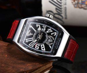 watch high fm bucket leisure quality leather quartz business men's