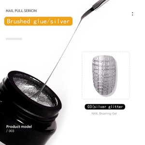 Nail Gel 5ml Wire Drawing Nails Polish Spider Web Varnish Painting Liner Glue Manicure DIY Art Lacquer UV TSLM1