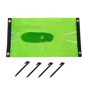 Training Mat Of Golf Swing Detection Batting Mini Practice Aid Game And Gift For Outdoor Indoor Sports Use Aids