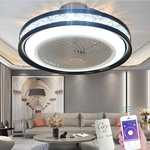 Ceiling Fans LED Dimmable Fan With Light Ultra-quiet Lamp Modern Remote Control Children's Room Bedroom Balcony Corridor