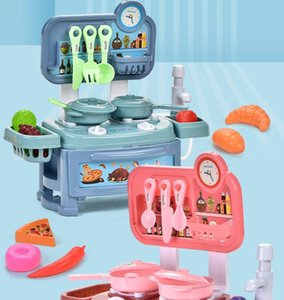 Simulation Kids Kitchen Set Pretend Play Toys Diy Delicacy Cooking Educational Play Toys Cooking Tools For Boys And Girls Gift 02