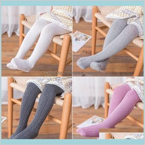 Baby Leggings Kids Girls Cotton Pantyhose Tights Toddler Autumn Stockings Spring Open Crotch Pants Pant Sock Kid H7Twq