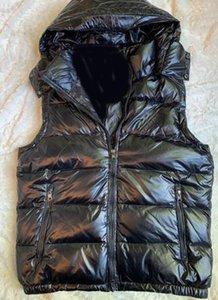Herren Daunenweste Parkas mit Abzeichen-Buchstaben Winter Design Weste für Männer Frauen Designer Jacken Casual Westen Mantel 3 Arten Hohe Qualität