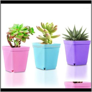 Planters Pots Patio, Lawn Home & Gardencreative Desktop Plant Potted Flower Pot Tray Mini Plastic Personalized Garden Supplies Breathable Go