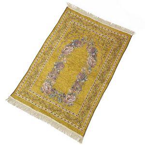 70*110cm thin Islamic Muslim Prayer Mat carpet Salat Musallah Rug Tapis Carpets Tapete Banheiro IslamicPraying Mats sea shipping NHB8971
