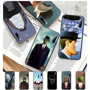 Rene Magritte Art Silicone Mobile Phone Case For Note 9s 8t 7 5A 5 4 4x 10 9 8 6 Pro Cover