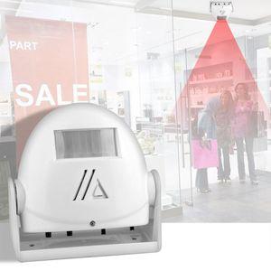 Doorbells Wireless Infrared Motion Door Bell Welcome Chime Sensor Alarm Doorbell For Store Greeting 32 Song
