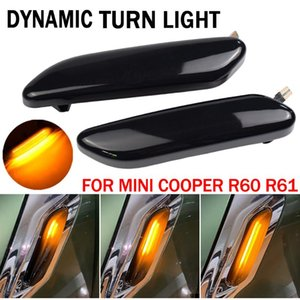 Emergency Lights Side Marker Flowing Dynamic Sequential Blinker Indicator LED Turn Signal Light For Mini Cooper R60 R61 Countryman Paceman
