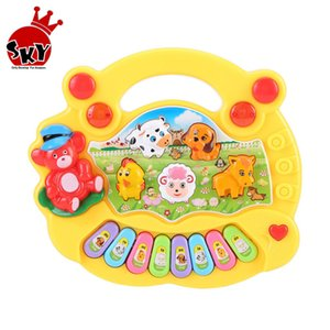 Musical Instrument Toy Baby Kids Animal Farm Piano Toys Developmental Music Educational For Children Gift