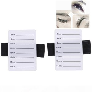 Fake Eyelash Tray Strip Stand Individual Eyelash Extensions Hand Plate Eye Lash Grafting Stand Palette Makeup Tool 7-14mm 8-15mm