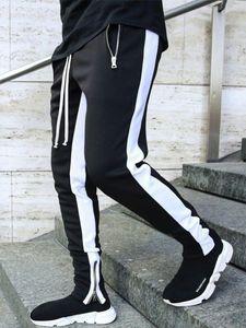 Mens Joggers Pantaloni Casual Pantaloni fitness uomo Sportswear Tracksuit Bottoms Skinny Sweatpants Pantaloni Pantaloni Black Palestra Jogger Track Uomo