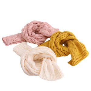 Kids Scarves Children Scarf Baby Ring Boys Girls Accessories Autumn Winter Keep Warm Knitted Wool Long B8955