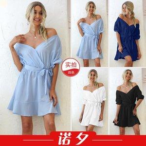 Плюс размер женщины дизайнеры платья высокого качества платья корейский мода женщина одежда 2021 одежда изготовлена в фарфоре винтажная простота блузки роскоши наряда zc532