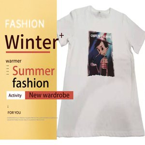 blouses White short sleeve T-shirt fashion ins top summer versatile student Korean loose