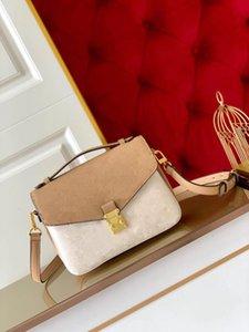 Empreinte Leather Metis Shoulder bag 11 Vibrant Colors with Gold Engraved Metal Buckle Super Soft Women Fashion Messenger bags