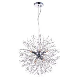 Modern Light Chandelier Lâmpadas Nórdico Led Led Chandeliers Luzes Pingentes Para Jantar Sala de estar Quarto Lâmpada Criativa Casa Luminária Luminárias